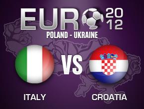 Italie Vs Croatie (Euro 2012)